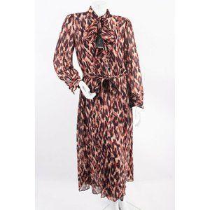 Massimo Dutti Womens Midi Shirt Dress US 8 EU 40